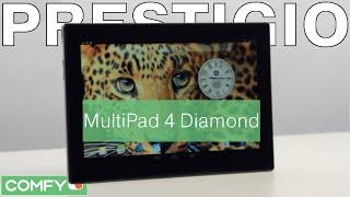MultiPad 4 Diamond 10.1 3G - сбалансированный планшет от Prestigio  - Видеодемонстрация от Comfy