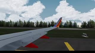 San Juan Departure on the 737| P3D V4.4