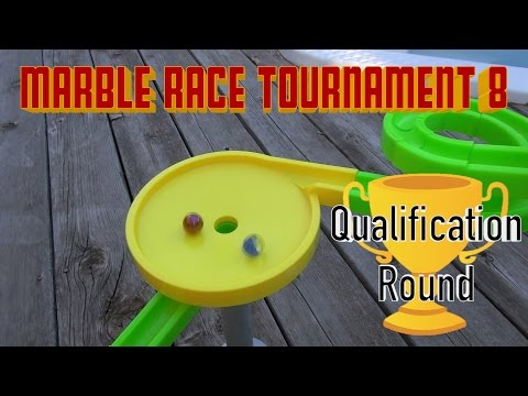 Marble Race Tournament 8! (Qualification Round)