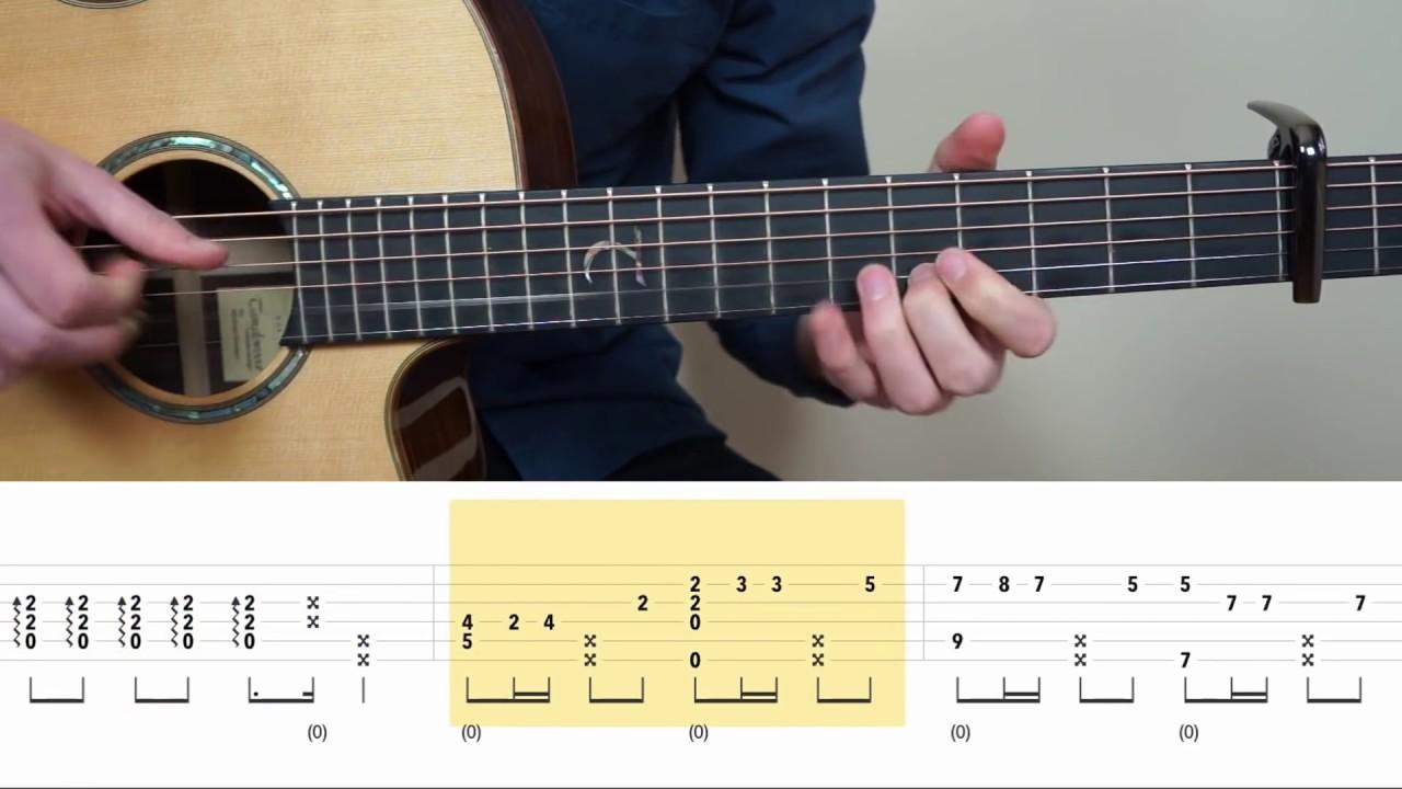 Armada Asal Kau Bahagia Fingerstyle Guitar Tabs Tutorial