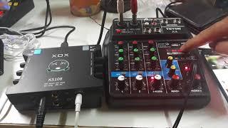 Mixer Thông Minh A4 Giá 1.700K. Kết Hợp Cùng Hiệu Ứng K10. LH 0937381978