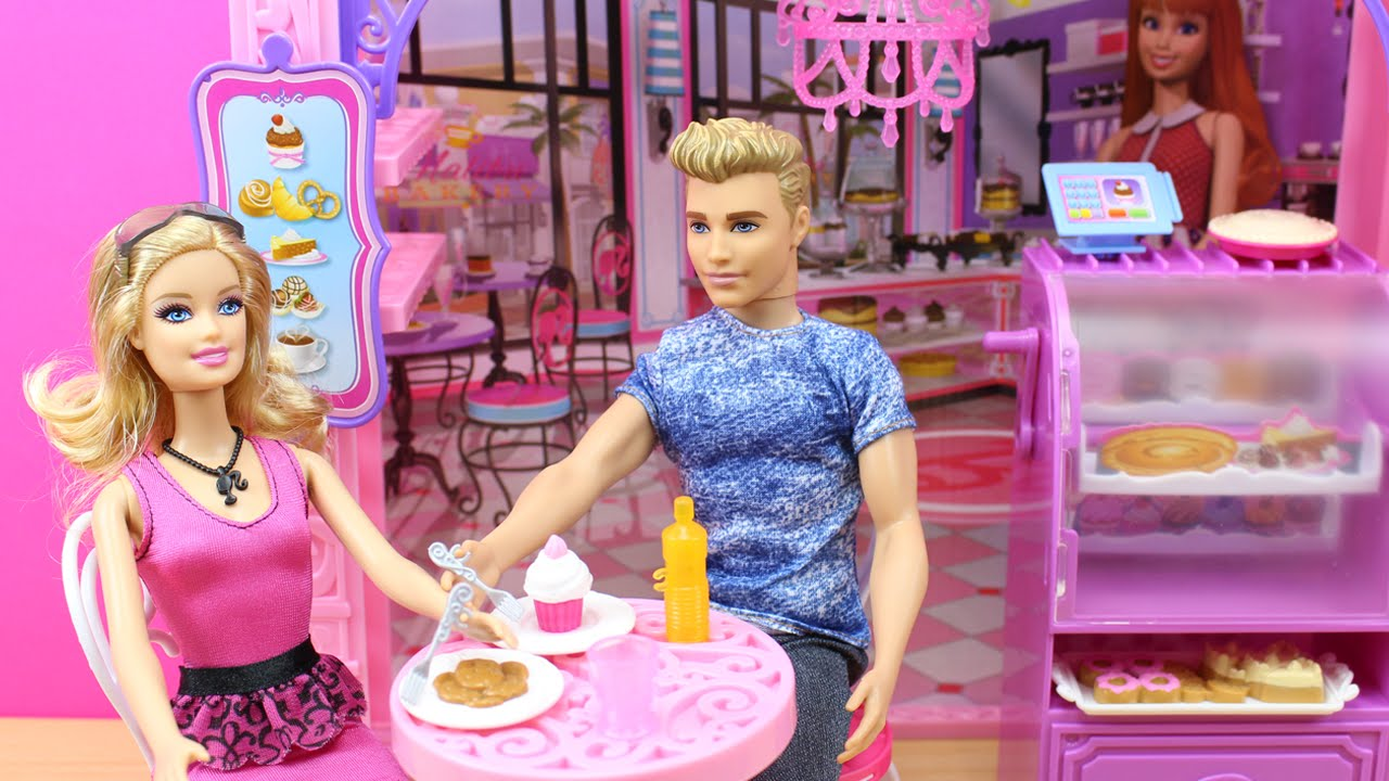 juegos de piscina con barbie y ken