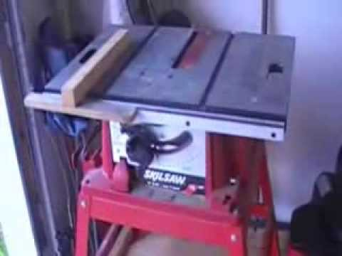 Diy table saw dust collector youtube diy table saw dust collector greentooth Images
