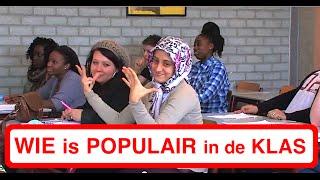 WIE IS POPULAIR IN DE KLAS?