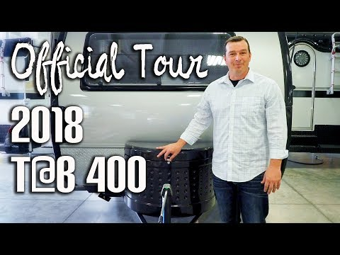 2018 T@B 400: Official Tour by nuCamp Factory
