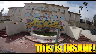 BREAKING INTO A MANSION!