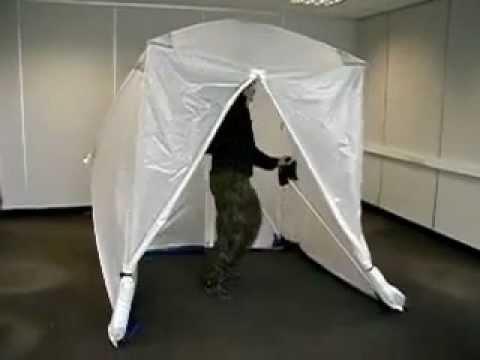 Safetrack Work tents - Arbetstält - Speed tent - Popup & Safetrack Work tents - Arbetstält - Speed tent - Popup - YouTube