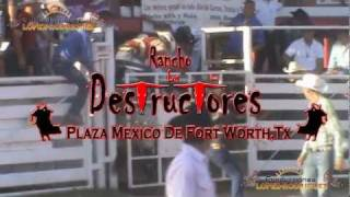 LOS DESTRUCTORES DE MEMO OCAMPO EN FORT WORTH TEXAS