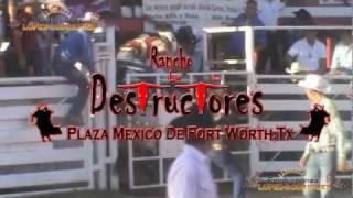 LOS DESTRUCTORES DE MEMO OCAMPO EN FORT WORTH TEXAS