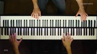 Once There Were Draġons - How To Train Your Dragon 3 (Piano Cover) feat PandaTooth