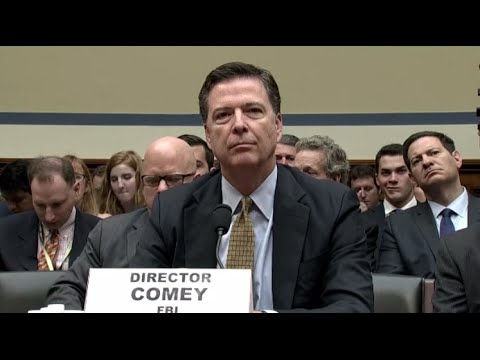 FBI Chief James Comey Testifies on Clinton Email Probe Befor