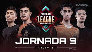 Grupo B | Jornada 9 - #FreeFireLeague | Clausura 2020
