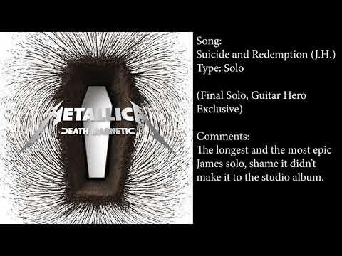 Every James Hetfield Solo in Metallica's Studio Albums (+ Commentary)