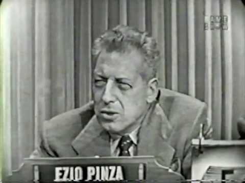 What's My Line?  Ezio Pinza Nov 1, 1953
