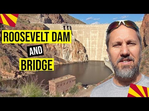 Roosevelt Dam (Arizona) & Roosevelt Lake Bridge: Things to do in Arizona