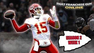 Madden 20 | Building Chiefs Kingdom | TFGO Ultra-Realism League | Season 2 Week 1