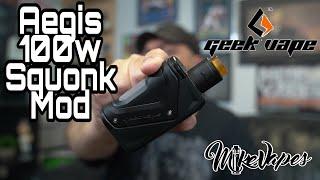 Geek Vape Aegis 100w Modular Squonk Mod