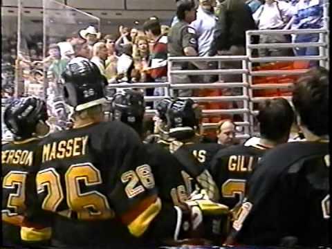 OKC Blazers Vs Tulsa Oilers Fans CHL Apr 1/94