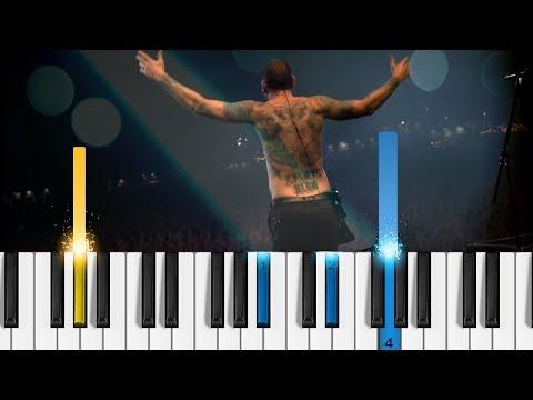 Linkin Park - One More Light - Easy Piano Tutorial