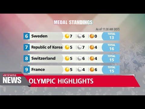 Highlights of final weekend of 2018 PyeongChang Winter Olympics