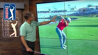 Jon Rahm's slow motion swing analysis | Winning Formula 2019