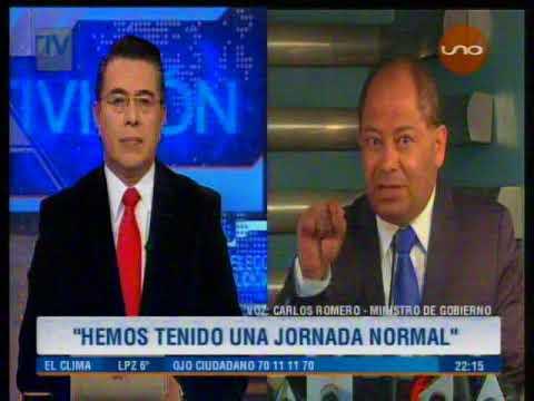 Elecciones judiciales: Ministro Romero es un acto del pueblo el Gobierno no intervino
