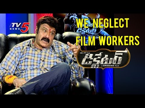 Really We Neglect Film Workers | Balakrishna Interview | TV5 News