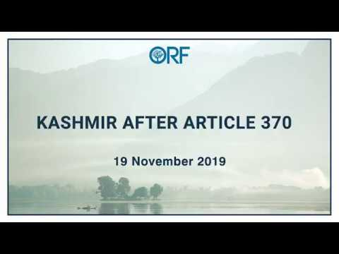 Kashmir After 370