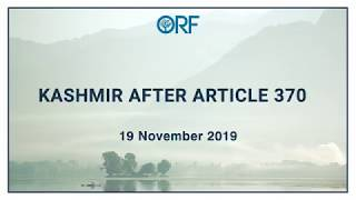 Kashmir After 370 | Post 370 Security Dynamics: for better or worse?