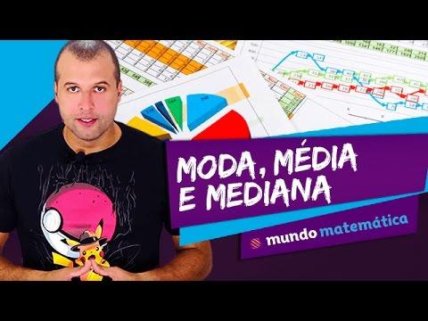 Estatística: medidas de tendência central - Mundo Matemática - ENEM