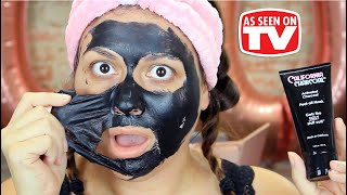 California Charcoal Peel Off Mask Review | Testing As Seen on Tv Products