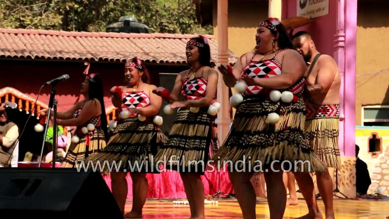 Maori Dance: Maori Dance Of New Zealand