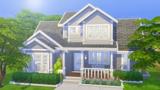AFFORDABLE FAMILY HOME // The Sims 4: Speed Build