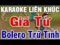 Karaoke Nhạc Sống Trữ Tình Rumba Hòa Tấu  | Liên Khúc Bolero Giã Từ | Trong Hiếu
