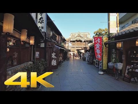 Walking around Shibamata, Tokyo - Long Take【東京・柴又/帝釈天】 4K