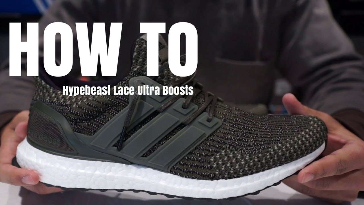Adidas Ultra Boost so wie Shindy? Lacing Tutorial!