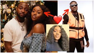 Nigerians Bl@st Peruzzi and Chioma for playing Davido...Fans are asking