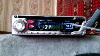 CD-ресивер JVC KD-G407