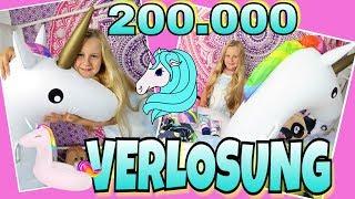 Mega Einhorn VERLOSUNG 200.000 Abo Special coole Mädchen Zöpfe&Frisuren