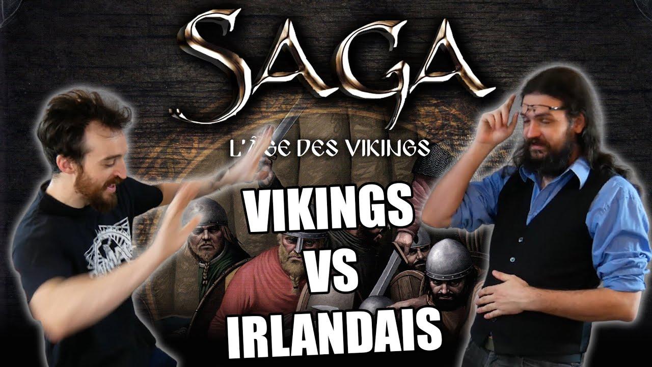 Saga - Hard Vikingxit pour l'Irlande - TaGueuleOnJoue