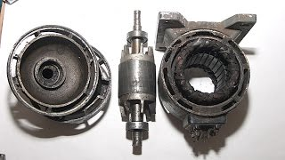 Электродвигатель. Ревизия перед подключением.(, 2015-10-20T16:13:34.000Z)