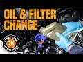 Harley Davidson Softail Sport Glide Oil & Filter Change