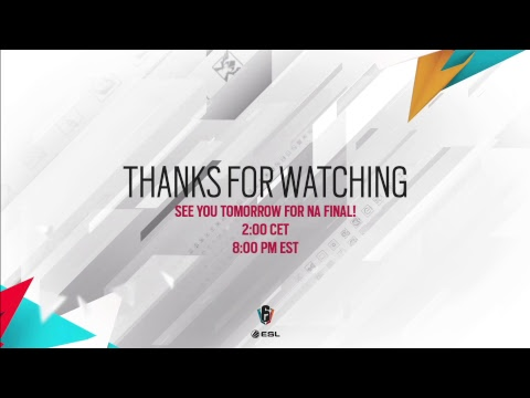Rainbow Six Invitational 2018 - Online Qualifiers - Semi-finals