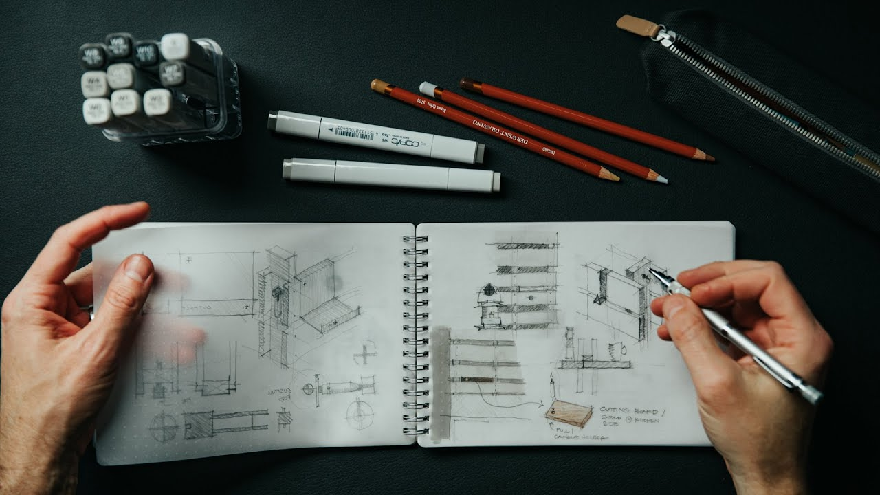 How I Sketch + Design Architectural Details