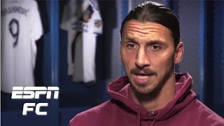 Zlatan Ibrahimovic on what he39d change about MLS and why he39s better than Carlos Vela  ESPN FC