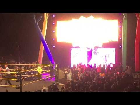 Nxt Sheffield live bayley entrance
