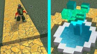 Construire une maison Partie 1! Chemin et fontaine - ROBLOX Construire un bateau pour le trésor