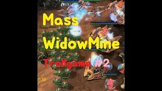 [ Troll Game SC2 ] Mass Widowmine TvP Trollgame!