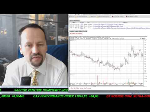SmallCap Investor Talk 387 Gold, Öl, Endeavour Silver, Pershing Gold, Cyprium, Canacol, ...