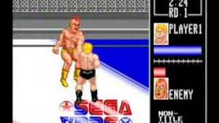 Sega Smash Pack - Wrestle War